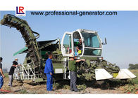 Self - Propelled 132kw Tomato Harvester , Reciprocating Cutting with Seedling Teeth