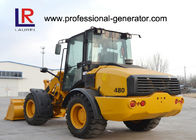 Full hydraulic Wheel Loader / Heavy Construction Machinery 2000kg Rated Load