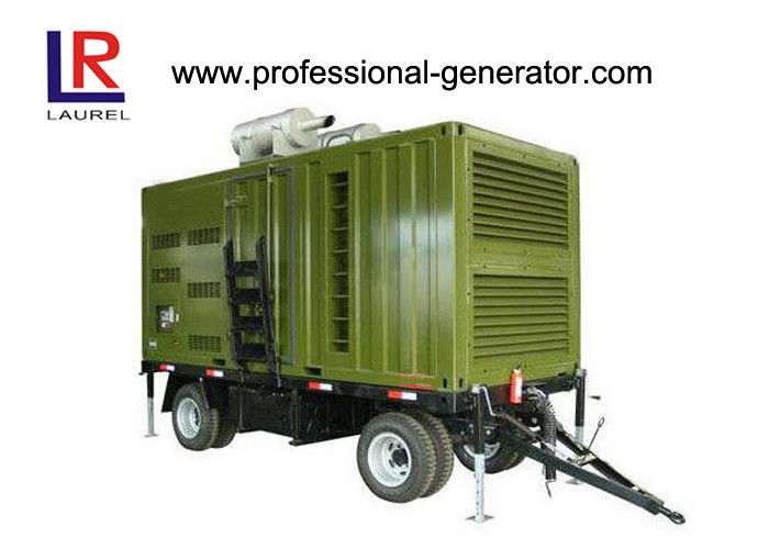 CE 20kw - 800kw Trailer Generator For Outdoor Or Mobility Work