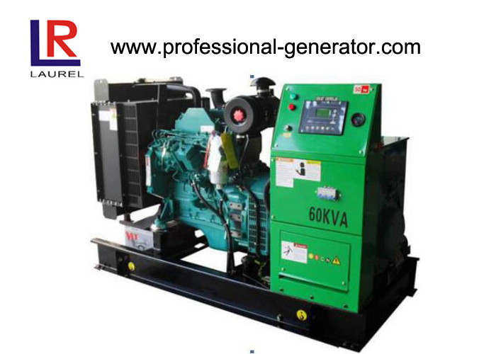 Low Oil Pressure Protection Cummins Diesel Generator Set 48kw AVR Smartgen Controller