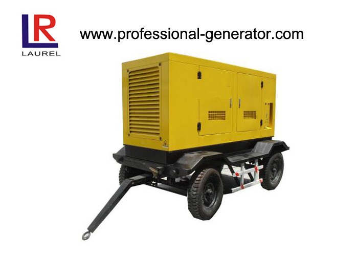 52kw Over Speed Protection Cummins Diesel Generator Trailer Available