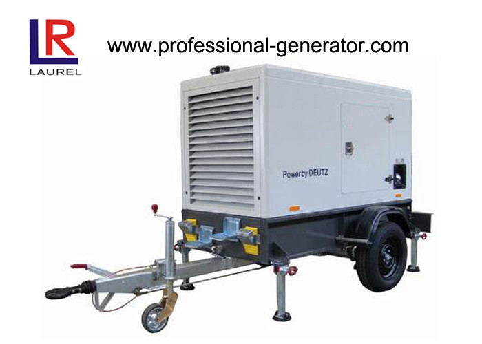 550KVA Silent Type Portable Mobile Power Generator with Deutz Engine 360AMP