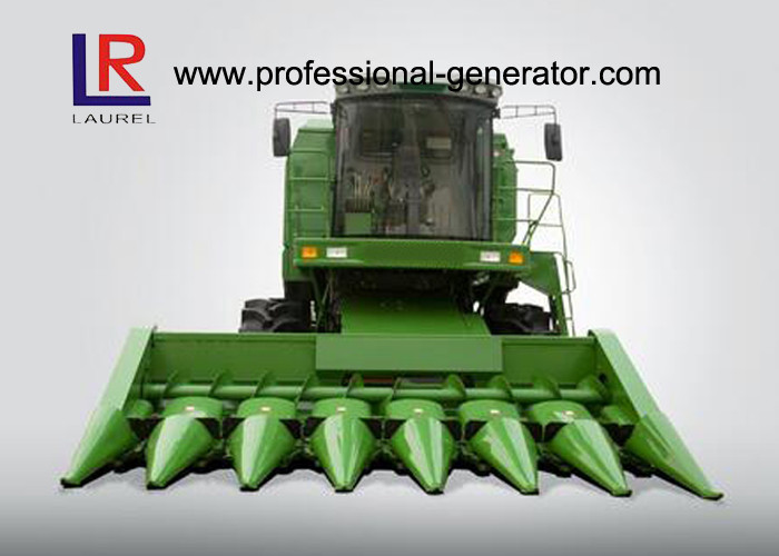 Multi - Functional 7 Rows Combine Corn Harvester with Mechanical Stepless Transmission