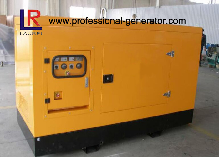 CE Approved Super Silent Diesel Generator 18kw - 112kw with Brushless Weather Proof
