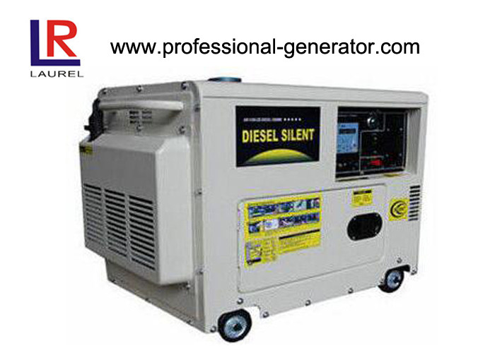 Copper Alternator 6.5KVA Diesel Powered Generator Air-cooled with ATS Electric Starter