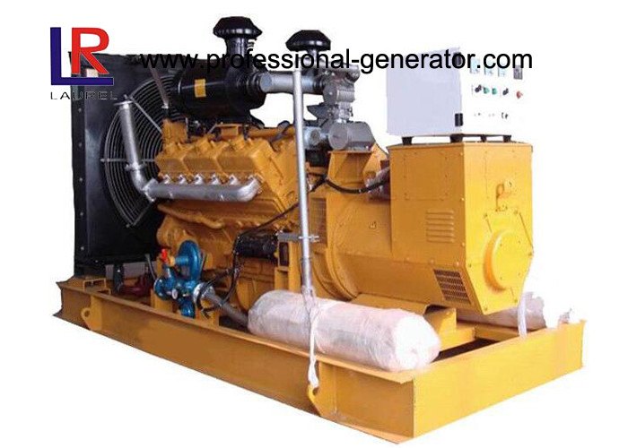 6 / 12 Cylinders Bio Gas Generator 20kw -1000kw with Closed Water cooled Professional OEM