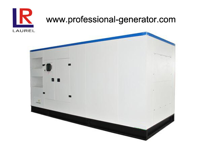 Brushless 570kw 12 Cylinders Soundproof Cummins Power Generator Deepsea Controller