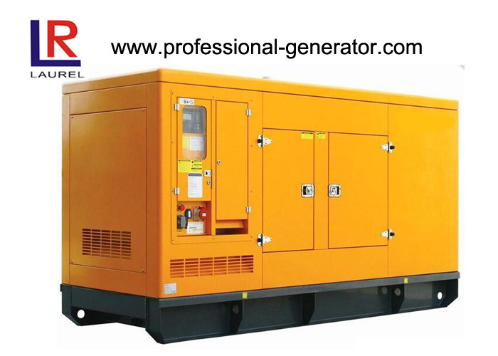 Yuchai Engine Silent Diesel Generator Set Water Cooling Four Stroke 3 Phase 300 kw