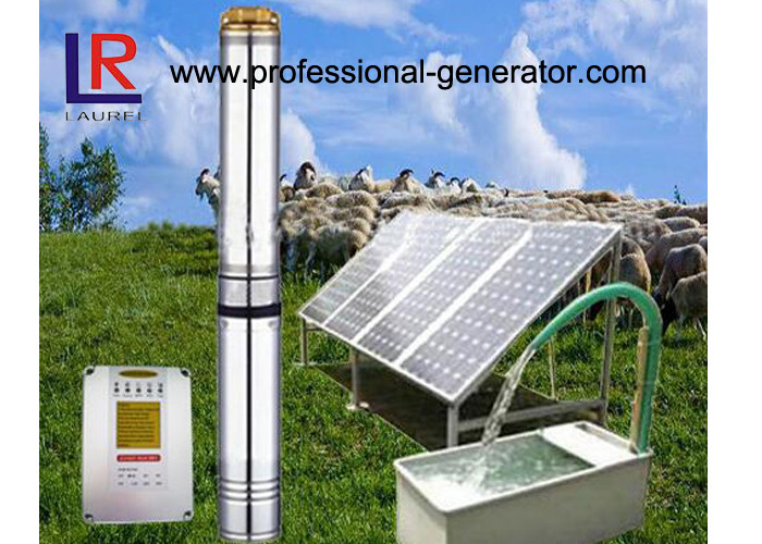 3 Inches Solar Agricultural Water Pump System With Solar Panel / Controller