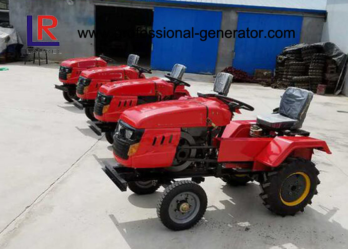 Single Cylinder Tractor Tillers And Cultivators Garden / Farm Mini Tractor