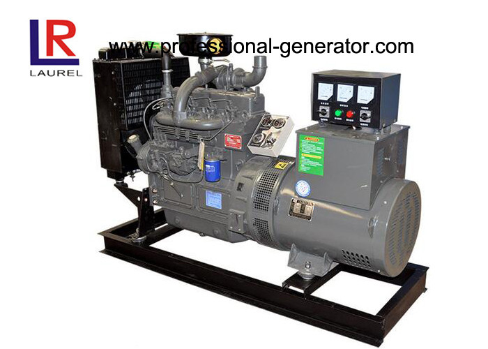 380V 4 Cylinders 40kw 50kVA Plant Open Diesel Generator Set with Water Cooling 3 Phase