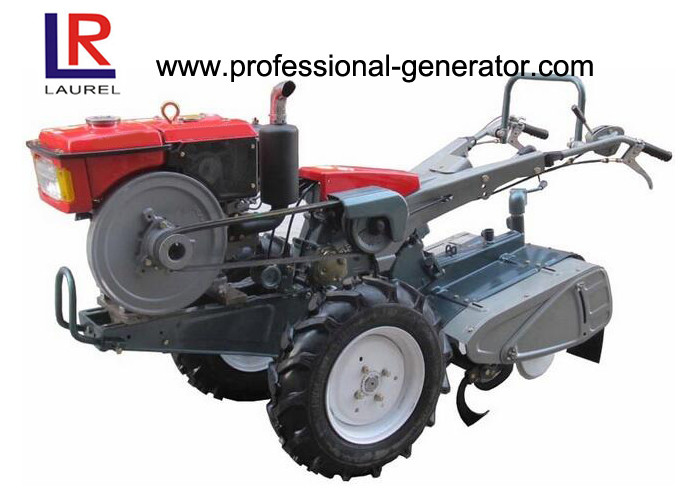Hand Walking 7HP Diesel Oil Power Tiller Agriculture Machine CE / ISO Certificated