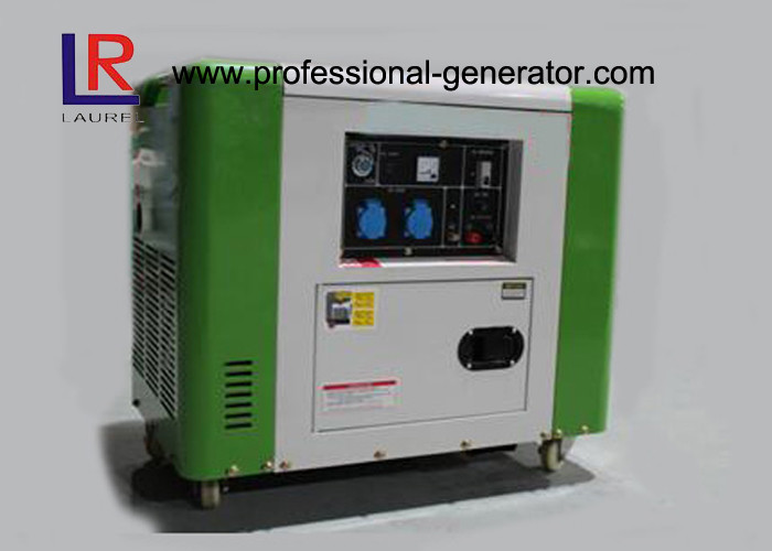 50Hz / 60Hz Air Cooling 4 Stroke 5.5kw Diesel Driven Generator Good Performance
