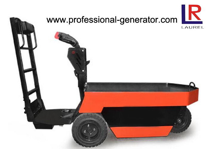 Standing Drivable Warehouse Material Handling Equipment 2500kg Mini Electric Tow Tractor