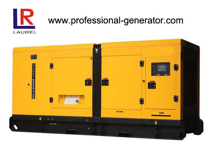 50Hz 250KVA AC Three Phases Quiet Diesel Generator Set With 4 Stroke 6 - Cylinder Cummins Engine