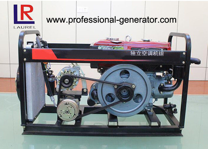 Agricultural Machinery 50Hz 230V Air - Cooled Diesel Generator With Electric Starting